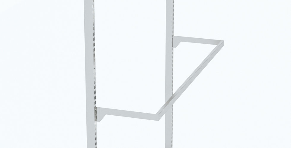 IVY - Rectangular Pipe Bracket Hanging Bar