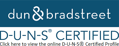 D-U-N-S® Certification is received!