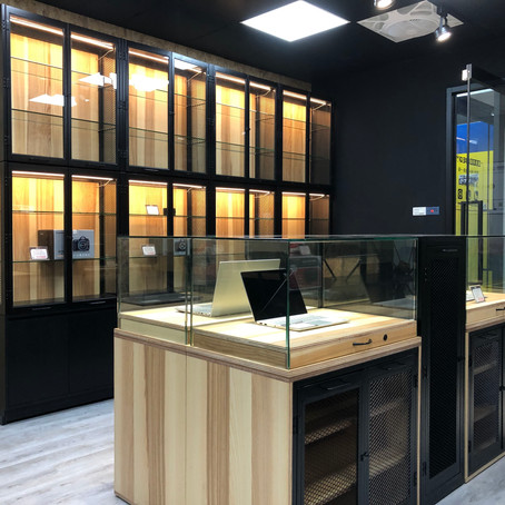 Our practice of the modular store fixture