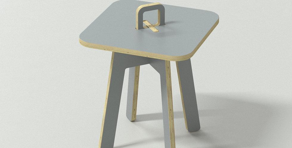 Chic Taiwan Original Design Coffee Side Table - Grey