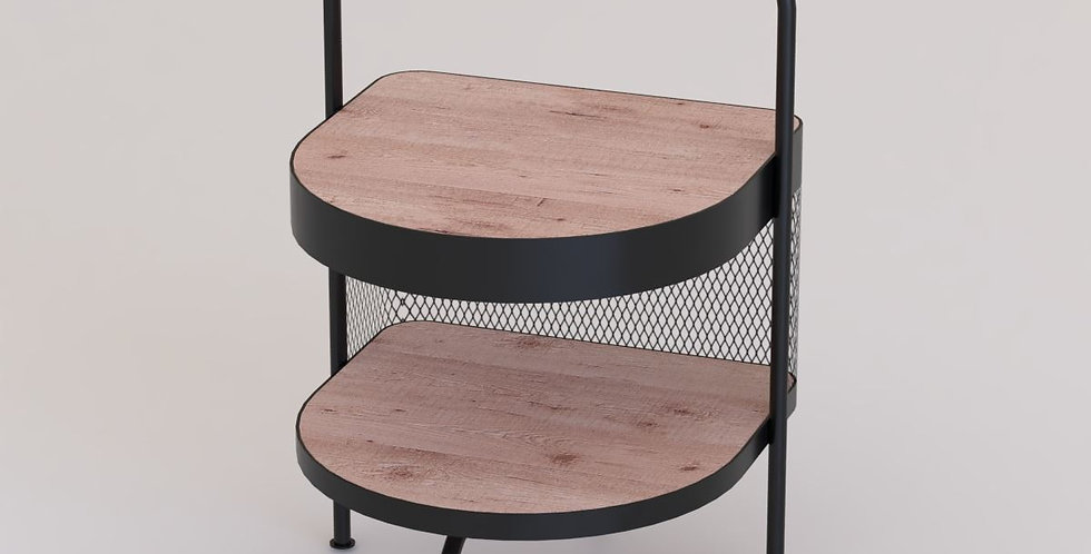 Hotel Guestroom Side Table (L) / HGW-033-B