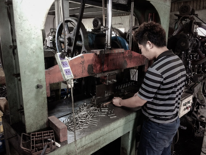 Metal Working - Wire Punching Bending Ma