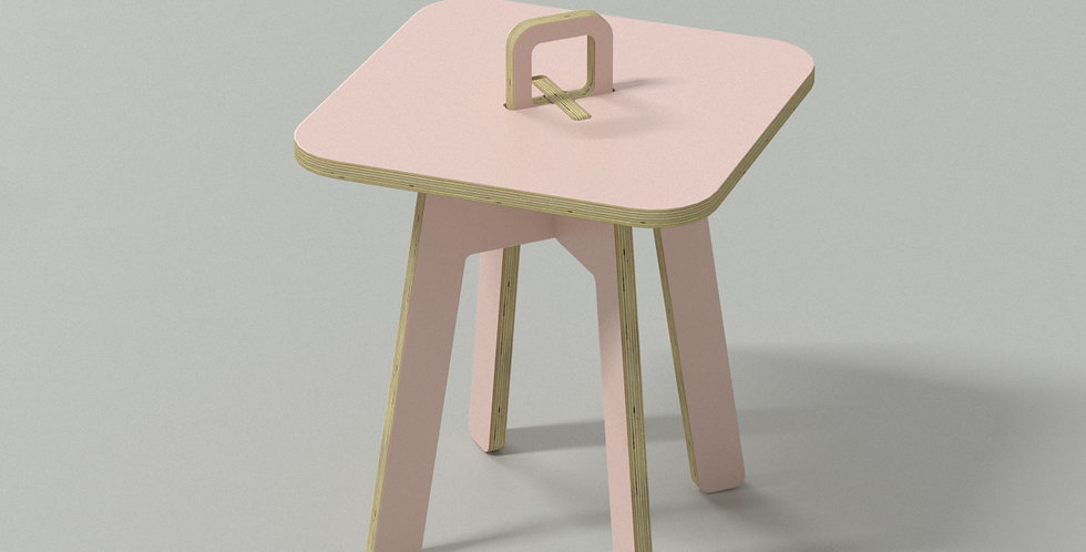 Chic Taiwan Original Design Coffee Side Table - Pink