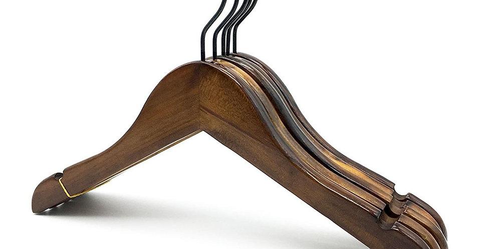 Standard Wooden Cloth Hanger - Kid / WH-010KA Antique