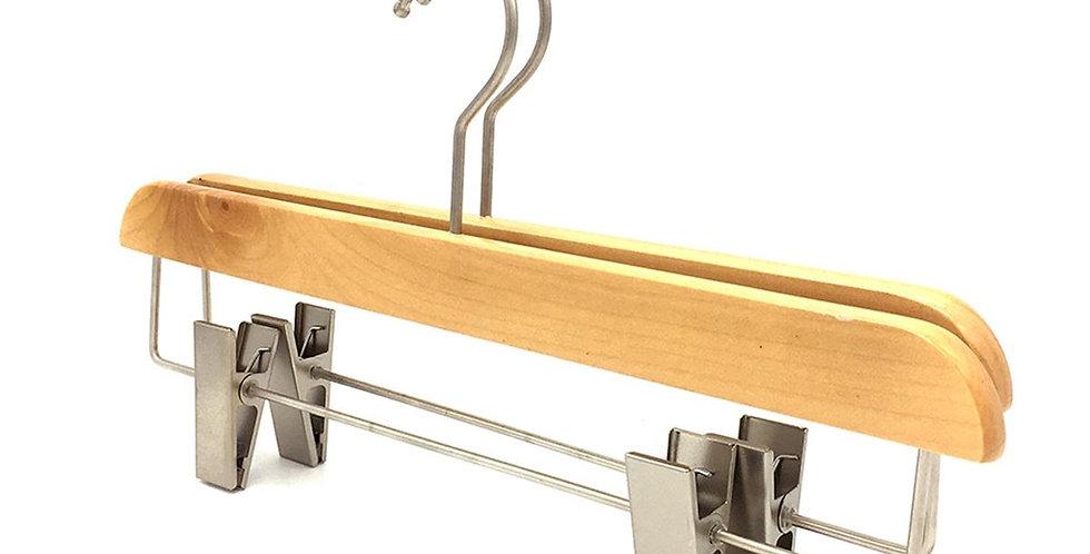 Wooden Dress & Pants Clip Hanger / WH-034AO Origin