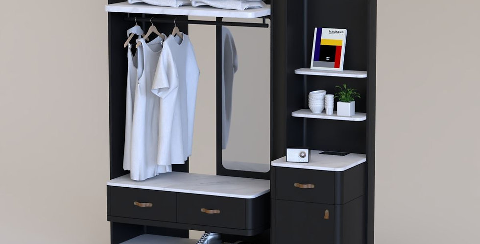 HGW-020-A, Hotel Guestroom Wardrobe
