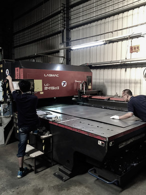 Metal Working - Metal Sheet on Laser Cut