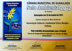2012 - Selo Ambiental