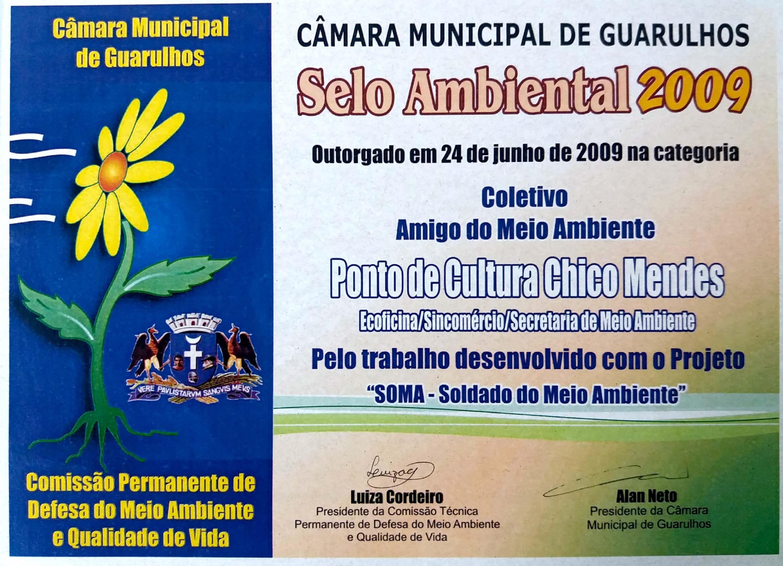 2009 - Selo Ambiental