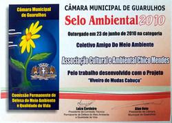 2010- Selo Ambiental