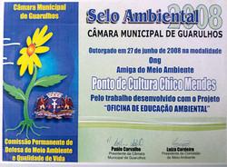 2008 - Selo Ambiental