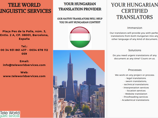 Simple or Sworn Hungarian translators to help you