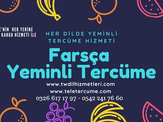 Farsça Yeminli Tercüme ve Tercümanlık Hizmetleri...