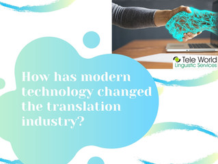 How Has The Modern Technology Changed Translation Industry?