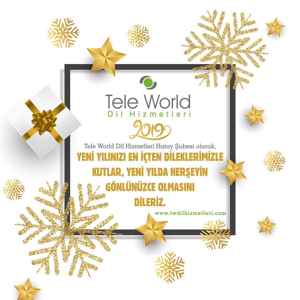 Tele World Dil Ailesi Yeni Yıl Mesajı