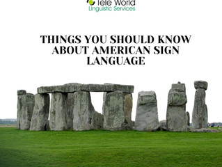 Things You Should Know About American Sign Language