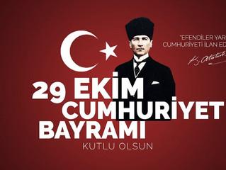 29 Ekim Cumhuriyetimizin Bayramı