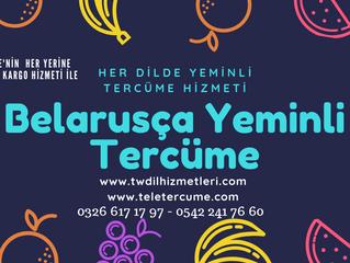 Belarusça Yeminli Tercüme, Tercüman Hizmetleri