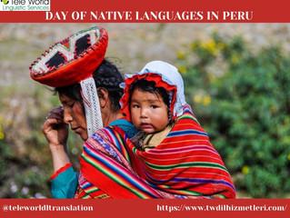Day of Native Languages ın Peru