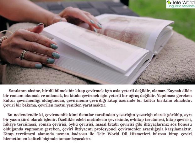 Kitap Çeviri Hizmetleri / Book Translation Services