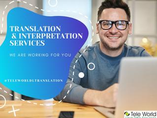 Tele World Linguistic Services - Translation and Interpretation Services - Yeminli Tercüme Bürosu