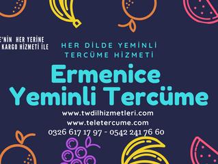 Ermenice Yeminli Tercüme, Noter Onaylı Yeminli Tercümanlık Hizmeti...