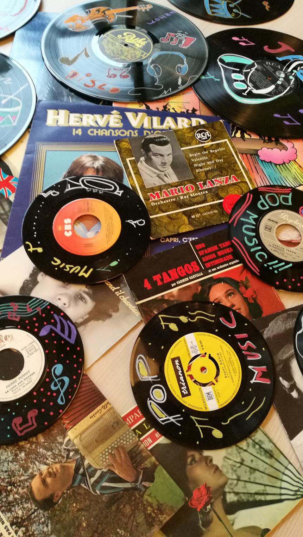 Décor sur vinyl