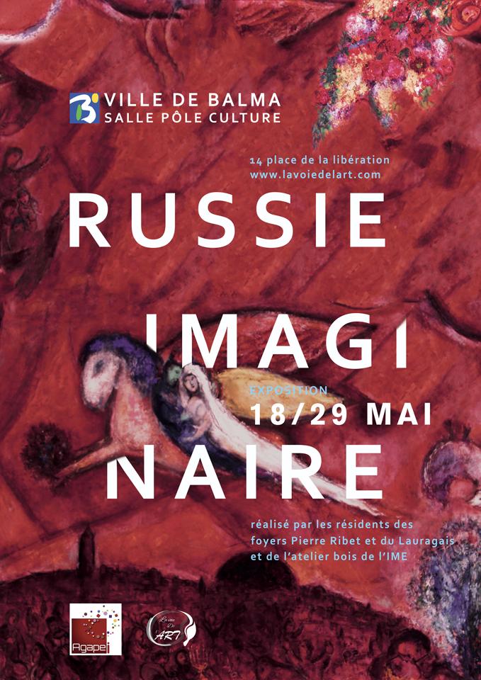 affiche imaginaire russe balma 2018