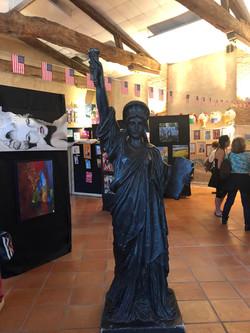 Notre statue pour la déco