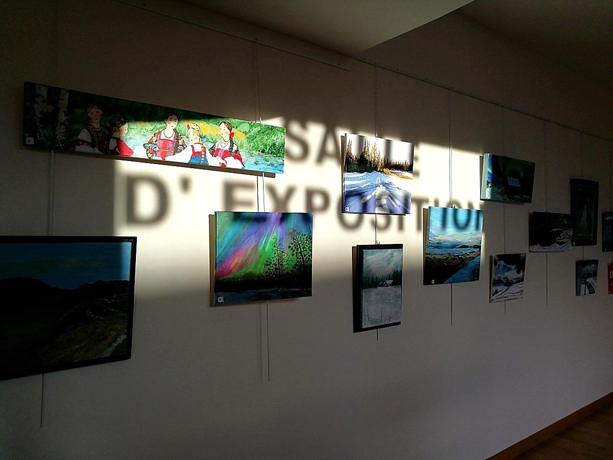 Exposition médiathèque de Donneville