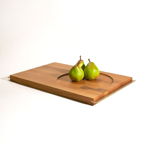 Double sided tray