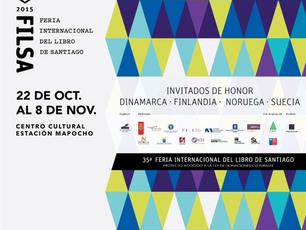 Torsten Pettersson invited to the Chilean book festival FILSA 2015