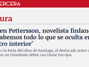 Interview in leading Chilean newspaper