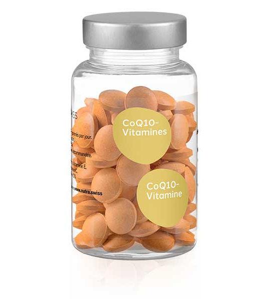 Coenzyme Q10 complément alimenaire Nutra Swiss