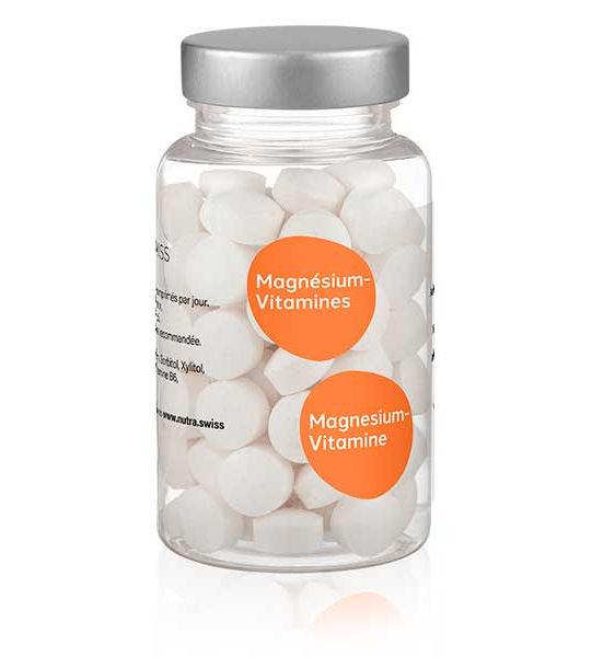 Magnésium complément alimenaire Nutra Swiss