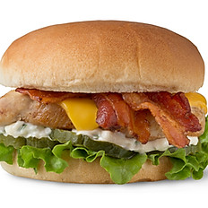 Grilled or Southern Fried Chicken Club Sandwich