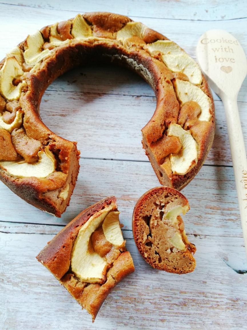 gâteau pomme amande huile de noix bocerno