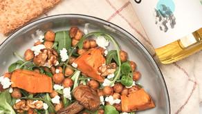 Salade automne/hiver de Julia