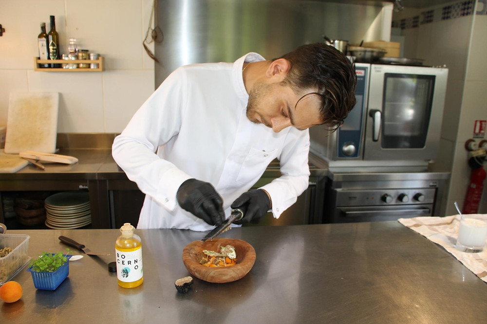 Chef Thibault Guiet Nomade Bocerno