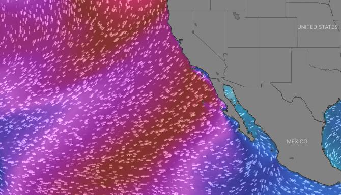 Baja Surf Excursions Surf Forecast for April 6-9th. 4x4 Surf Tours