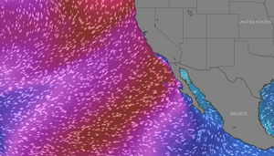 Baja Surf Excursions Surf Forecast for April 6-9th. 4x4 Surf Tours