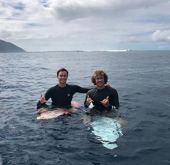 Adventurous surf camp style trips to Tahiti, French Polynesia. 5-7 day surf trips for groups of 1-8. Accommodations, airport transfers from PPT, breakfast, and boat rides to surf, waterfalls, etc.