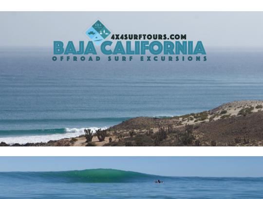 Baja Surf Excursion 5 Day Trip Discount: $1250/person
