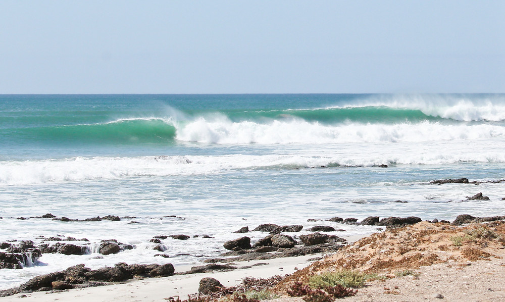Surf camp in Baja California
