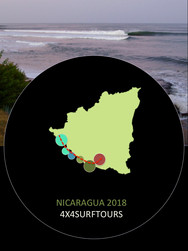 Nicaragua Surf Trips | 4x4 SURF TOURS