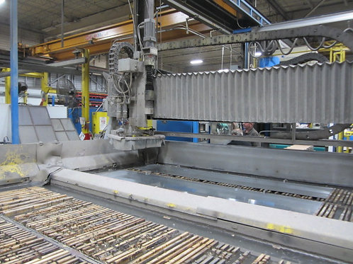 WARDJET 10' x 14' CNC WATER JET CUTTING SYSTEM, LOW HOURS NEW 2015