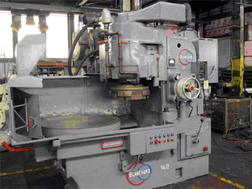 """42"""" BLANCHARD Rotary Surface Grinder, Model 18-42, S/N 11091, New 1963"""