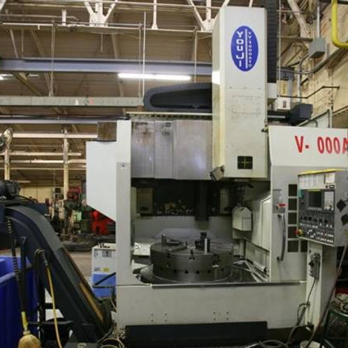 Youji CNC Vertical Turret Lathe  New 2007
