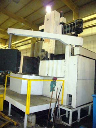 "Tos SKI 16, 63"" CNC Vertical Boring Mill  New 1988"