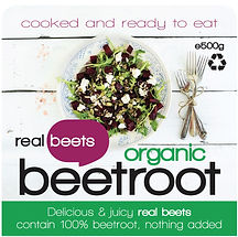 Organic, Delicious & juicy real beets contain 100% beetroot, nothing added